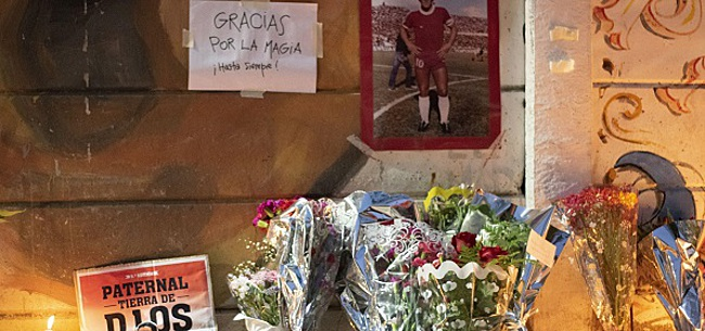 Foto: La photo de la honte avant les obsèques de Maradona