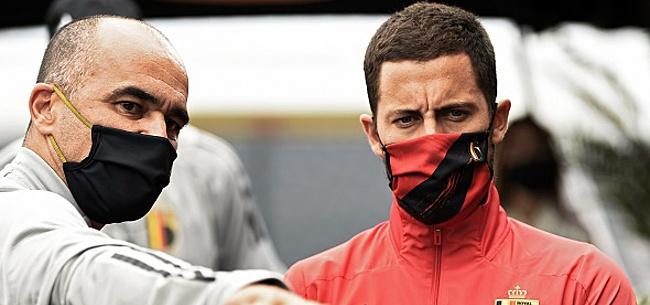 Foto: Ce que Martinez a dit à Hazard au moment de le faire monter