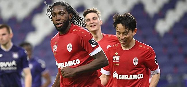 Foto: L'Antwerp privé de Mbokani pour affronter le Club de Bruges?