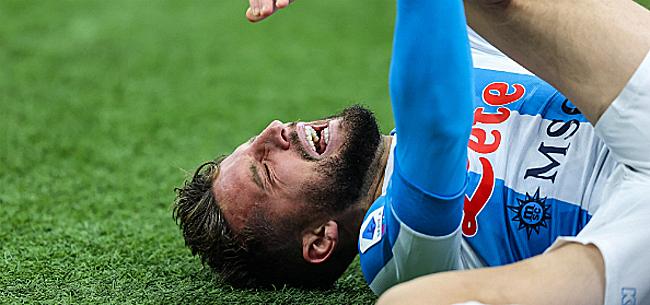 Foto: Serie A - Naples cartonne mais Dries Mertens se blesse