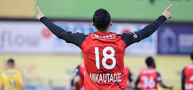 Foto: Un triplé de Mikautadze élimine le double vainqueur de la Coupe de Belgique