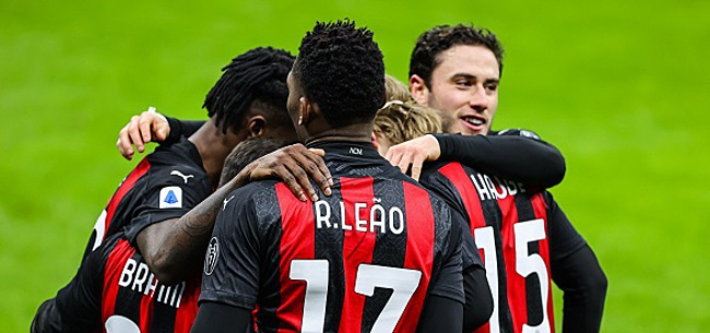 Foto:  L'AC Milan sauve un point par miracle