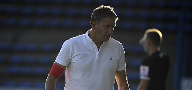 Foto: Montanier recale un ancien grand espoir du Sporting d'Anderlecht
