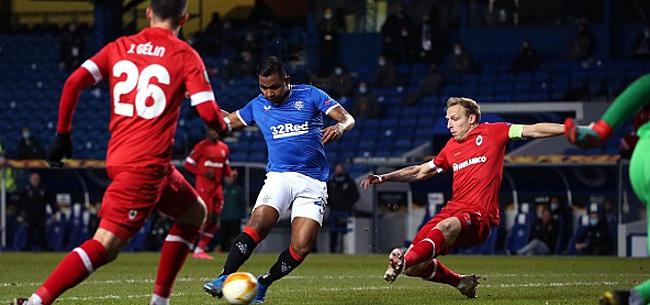 Foto: Europa League - L'Antwerp impuissant face aux Rangers
