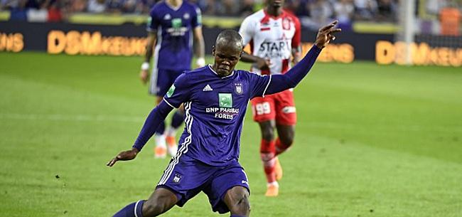 Foto: Knowledge Musona (Anderlecht) a un accord avec un club