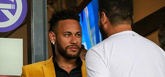 Foto: Neymar réfute les accusations