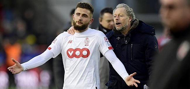 Foto: Amallah explique pourquoi Preud'homme a réuni ses joueurs après le match