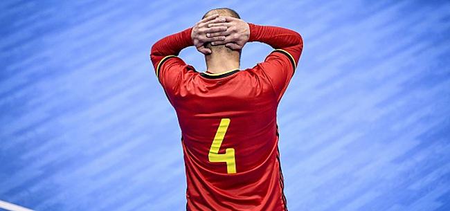 Foto: FUTSAL La Belgique s'incline et se met en difficulté