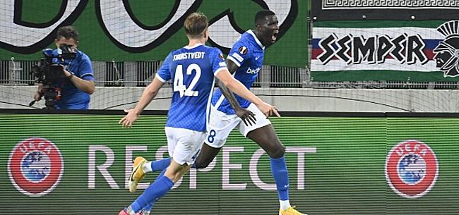 Foto: Europa League - Genk s'impose dans le money-time