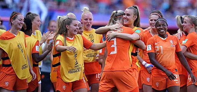 Foto: Mondial féminin - Les Pays-Bas qualifiés pour les demi-finales
