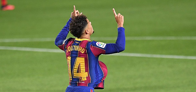 Foto: Nouvelle tuile pour Koeman: Coutinho est blessé à la cuisse gauche