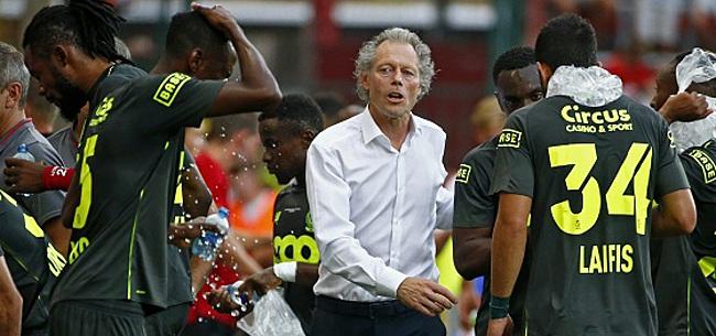 Foto: Preud'homme écarte un titulaire de son effectif pour le match face à Lokeren