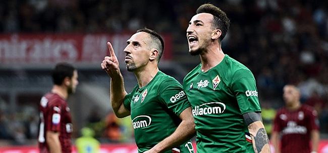 Foto: Déjà un trophée pour Franck Ribery en Série A