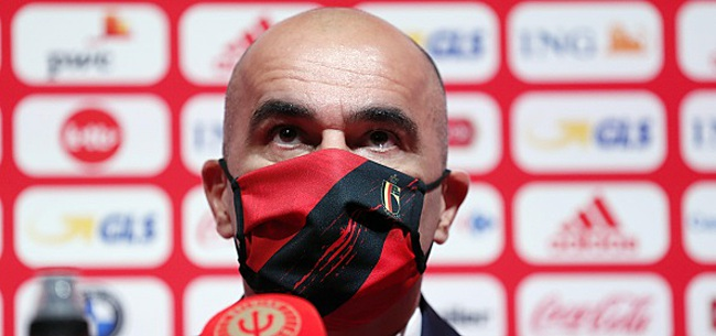 Foto: Martinez retient son souffle: un Diable Rouge est sorti sur blessure