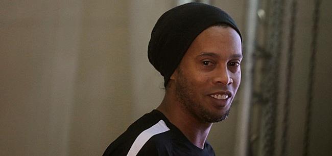 Foto: Ronaldinho en deuil