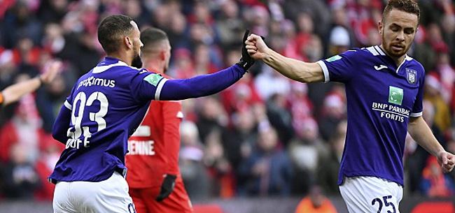 Foto: Le réserviste d'Anderlecht impressionne: