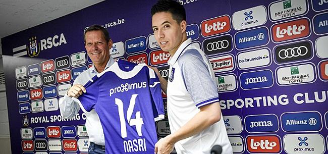 Foto: Samir Nasri va faire ses débuts sous le maillot d'Anderlecht