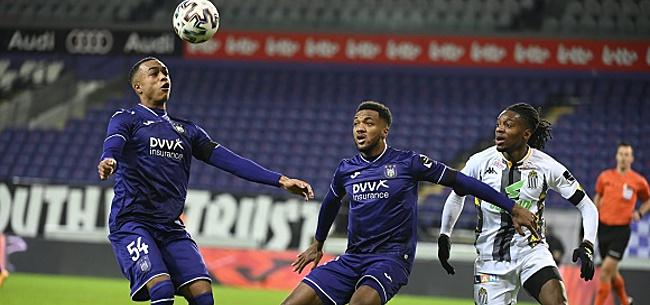 Foto: Il est trop peu performant pour Anderlecht