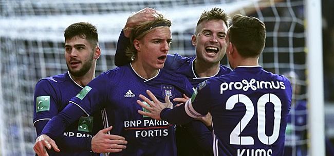Foto: Cela se complique en défense à Anderlecht