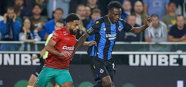 Foto: Sowah explique la raison pour laquelle il a rejoint le Club de Bruges