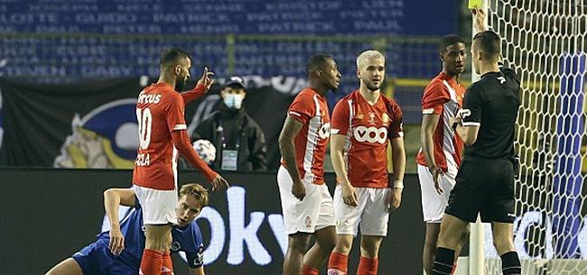 Foto: Ca chauffe au Standard: trois joueurs expédiés dans le noyau B