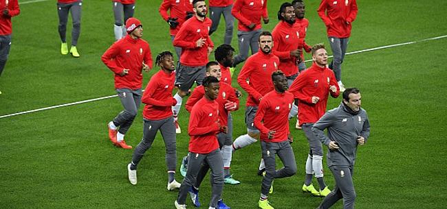 Foto: Un temps annoncé au Standard, il ne viendra finalement pas !