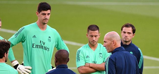 Foto: Ce mercredi, Courtois et Hazard ont assisté à un record en Liga