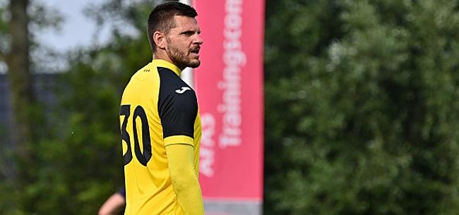 Foto: Van Crombrugge est sous le charme d'un gardien de Pro League