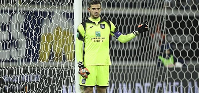 Foto: Anderlecht met Van Crombrugge sous pression
