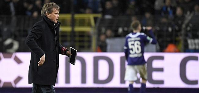 Foto: Vercauteren évoque son avenir à Anderlecht
