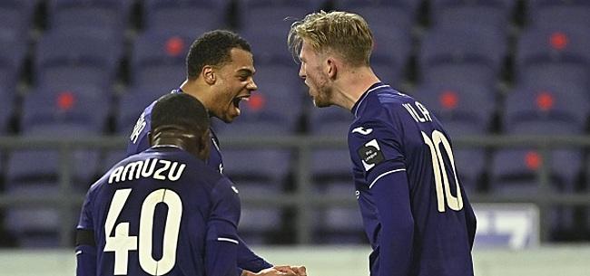 Foto: Anderlecht: Amuzu va devoir faire de la place