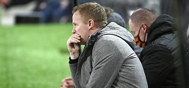 Foto: Vrancken critique ses joueurs après la défaite face au Standard