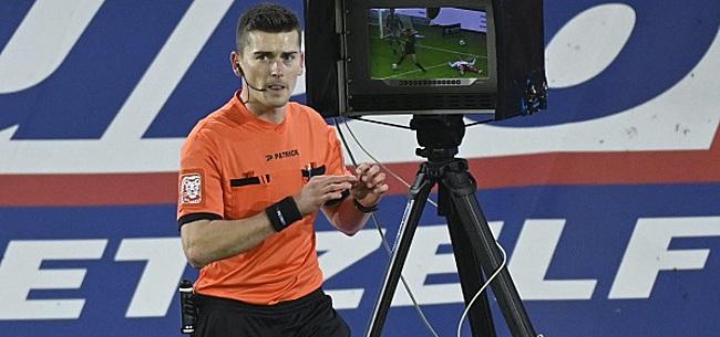 Foto: Voici l'arbitre d'Ostende - Standard