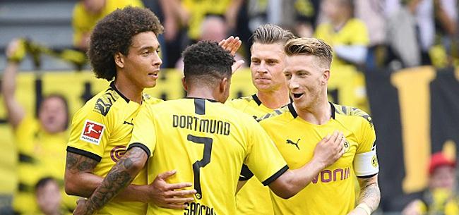 Foto: Le très beau geste de Witsel, Hazard et des joueurs de Dortmund