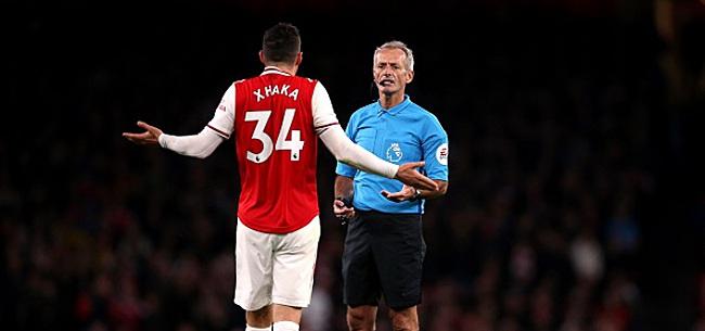 Foto: Xhaka enlève la photo d'Arsenal de son Instagram après une dispute avec les fans