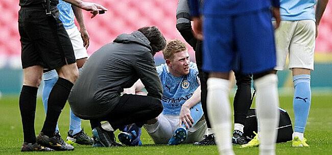 Foto: Communiqué au sujet de la blessure de De Bruyne