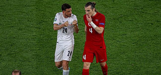 Foto: Blessé contre la Turquie, un défenseur italien sera absent contre la Suisse