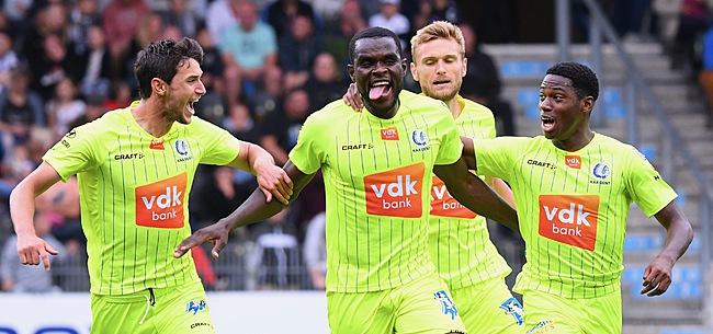Foto: Malgré la défaite, la Gantoise se qualifie pour le 3e tour de l'Europa League