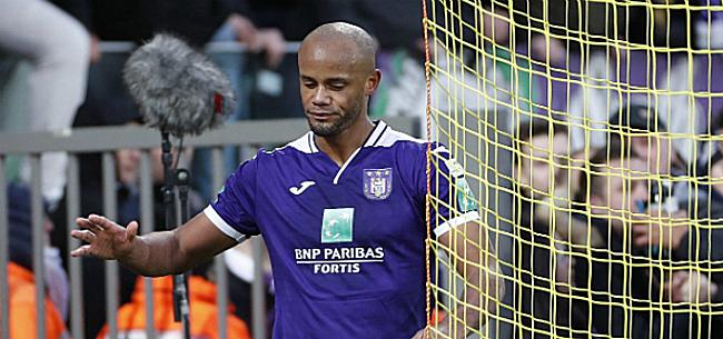 Foto: Anderlecht perd encore Kompany. De quoi souffre-t-il cette fois?