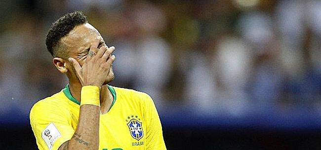 Foto: CHOQUANT Voilà comment Neymar s'est senti après la défaite contre les Diables
