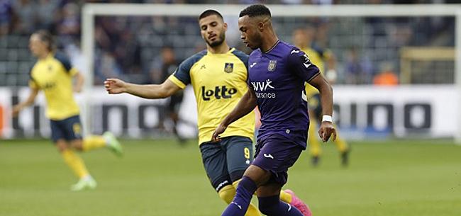 Foto: Anderlecht a manqué d'efficacité à ce niveau-là