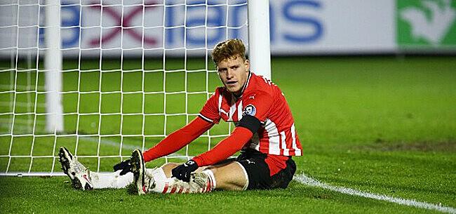 Foto: PSV - Ajax: le jeune Belge entre et marque